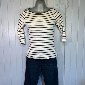 Zara Collection Organic ¾ Sleeve Shirt SZ.Small